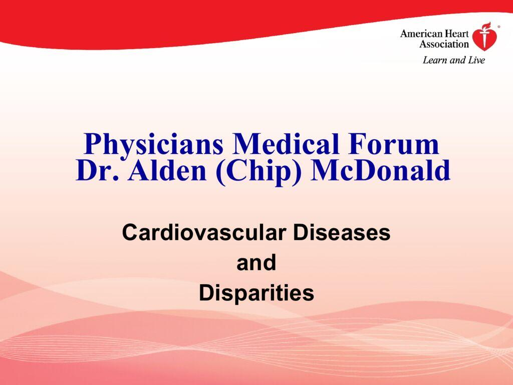 thumbnail of PMF 2021 DOB Website (Fr CHA 2019 Presentation Dr. McDonald – Cardiology)